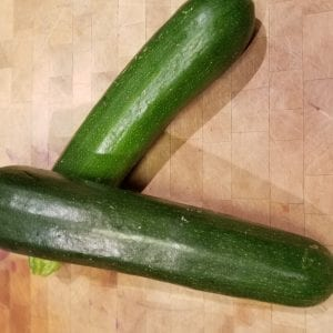Courgette Dark Green